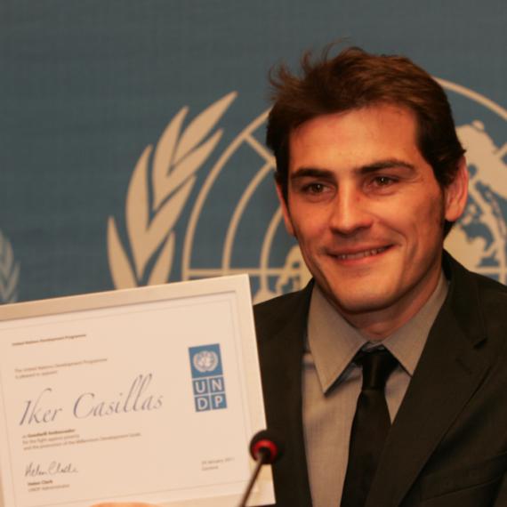 Iker embajador PNUD