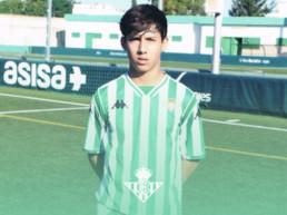 Adrián Vázquez jugador talent del Betis