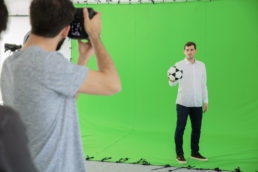Shooting para Sportium con Iker Casillas