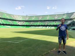 Gasco como nuevo jugador del Betis