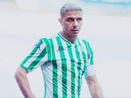 Joaquin Sánchez es centrocampista del Real Betis