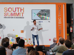 Chema Martínez en South Summit