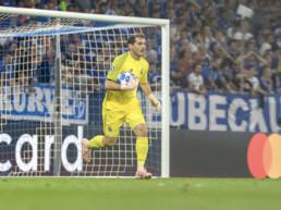 Iker Casillas celebra sus veinte años en Champions