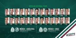 Jugadores de México