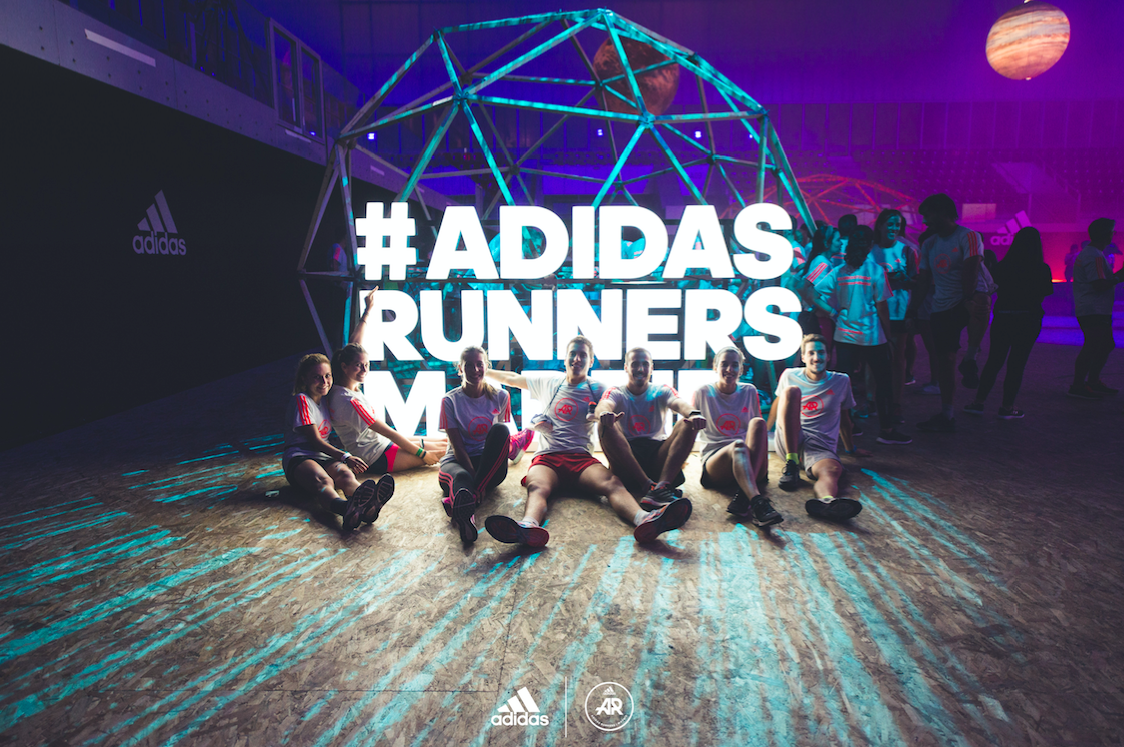 adidas runners event