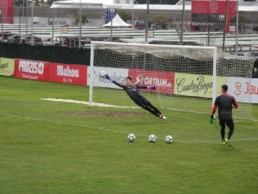 David López portero entrenando