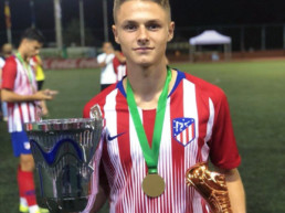 Nacho Quintana talent del Atlético de Madrid