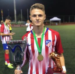 Nacho Quintana talent del Atlético de Madrid