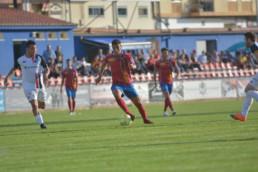 Fran Pérez durante un partido.