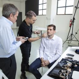 Shooting para Sportium con Iker Casillas