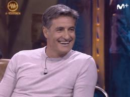 Michel Gonzalez en un momento del programa sonriendo